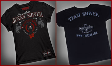 "Destruction Fight Gear ""Cowgirl"" Jenna Shiver Official Ring Tee"
